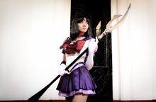Karen Kasumi - Sailor Saturn