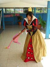 Haughty - Queen of Hearts - Alice in Wonderland