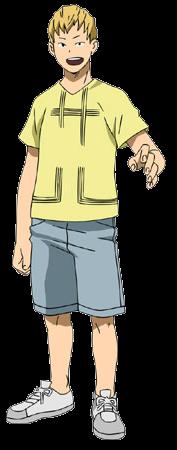 Mashirao Ojiro casual profile