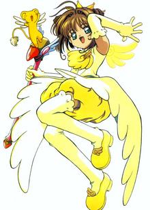 Sakura yellowdress