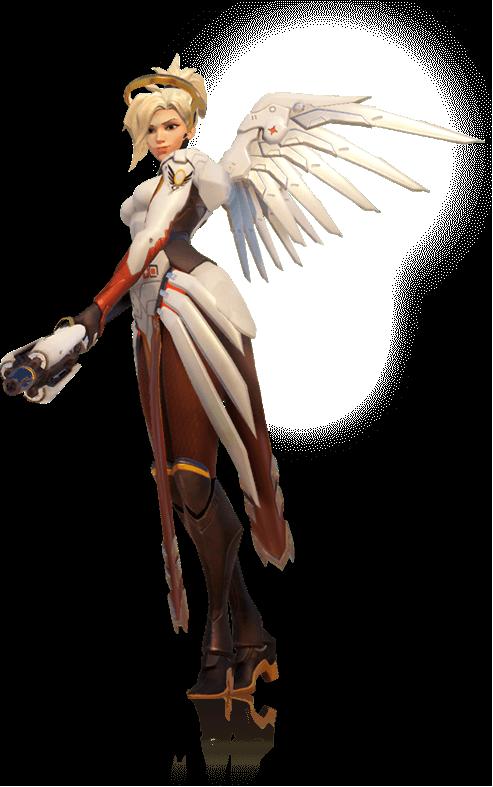 Overwatch mercy zhuque arhoangel