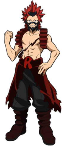 Eijirou Kirishima Full Body Hero Costume