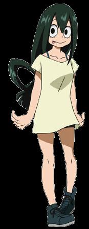 Tsuyu casual profile