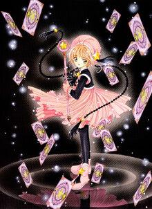 Sakura starrypinkandblack