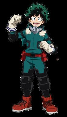 Izuku Midoriya CostumeBeta