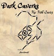 Dark caverns map
