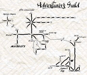 Adventurersguild map