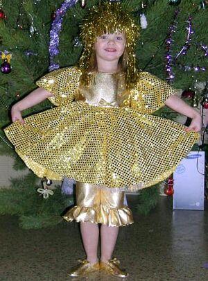 Golden-doll