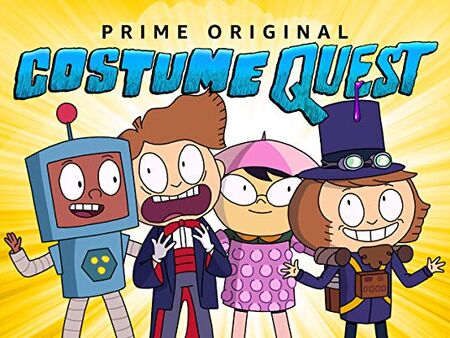Costume Quest square poster