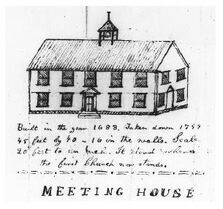Meeting house sketch