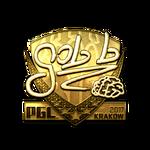 Gob b (Gold) Kraków'17