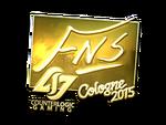 FNS - naklejka Cologne 2015 (złoto)
