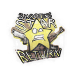 Shooting Star Return (graffiti)