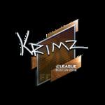 KRIMZ (Folia) Boston'18