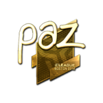 Paz (Gold) Boston'18