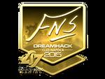 FNS - naklejka Cluj'15 (złoto)