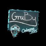 GruBy - naklejka