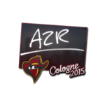 AZR - naklejka