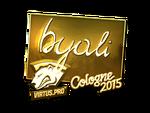 Byali - naklejka Cologne 2015 (złoto)