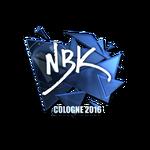 NBK- (Folia) - Cologne'16