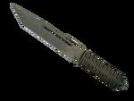 Nóż paracord Siatka safari