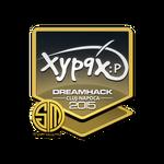 Xyp9x - naklejka Cluj'15