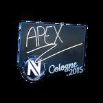 ApEX - naklejka