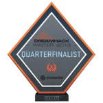 Dreamhack 2013 Quarter-Finalist Trophy