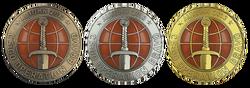 Odznaki Operacji Bravo