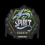 Team Spirit (Graffiti) London'18