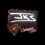 Jks - naklejka