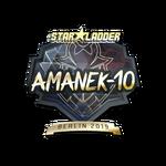 AmaNEk (Gold) Berlin'19