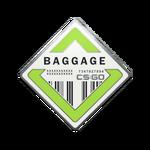 Odznaka - Baggage