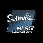 S1mple MLG Columbus'16