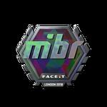 MIBR (Holo) London'18