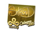 Shroud - naklejka Cologne 2015 (złoto)