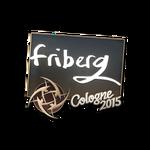 Friberg - naklejka