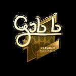 Gob b (Gold) Boston'18
