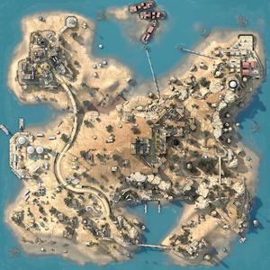 Sirocco - mapa