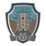Odznaka - Italy