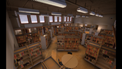 Library - bombsite