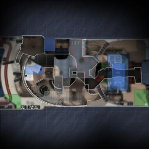 Cruise - mapa