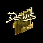 Denis (Gold) Boston'18