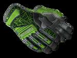 Rękawiczki specjalistyczne Szmaragdowa sieć