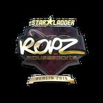 Ropz (Gold) Berlin'19