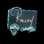 Rallen - naklejka