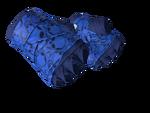Bandaże bokserskie Kobaltowe czaszki
