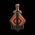 Odznaka - Bravo