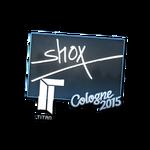 Shox - naklejka