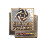 Ninjas in Pyjamas (Holo) DreamHack Winter 2014